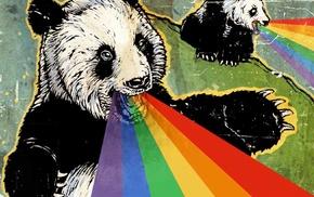 Adobe Photoshop, rainbows