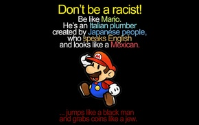 Super Mario, Racism, Super Mario Bros., Mario Bros.