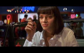 Uma Thurman, movies, Pulp Fiction