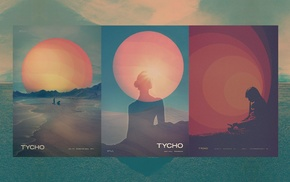 Scott Hansen, Sun, graphic design, colorful, Tycho, artwork