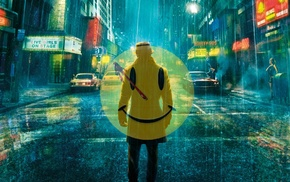 smiley, Rorschach, Watchmen, movies