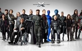 Patrick Stewart, Halle Berr, Rogue character, X, Men Days of Future Past, Ian McKellen