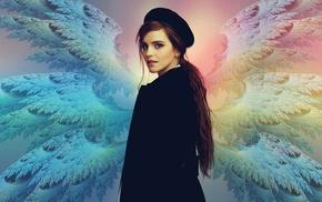 Harry Potter, Emma Watson, Hermione Granger, wings