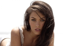model, Transformers, celebrity, brunette, Megan Fox