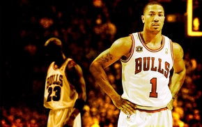 sports, Chicago, NBA, Chicago Bulls, Michael Jordan, Derrick Rose