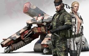 Metal Gear Solid 3 Snake Eater, Shagohod, The Boss, Metal Gear Solid, Naked Snake, Big Boss