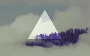 landscape, shapes, geometry