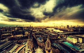 city, cityscape, London, England