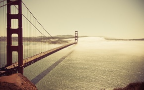 San Francisco, bridge, Golden Gate Bridge