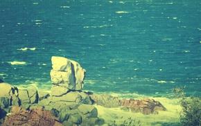 фильтр, природа, море