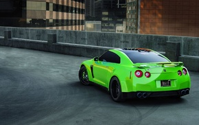 Nissan, Nissan Skyline GT, R R35, city, R, parking lot
