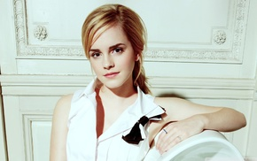 blonde, Emma Watson, celebrity, actress, girl