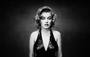 monochrome, girl, Marilyn Monroe