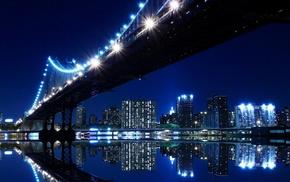 bridge, cityscape