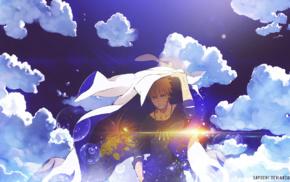 anime, Naruto Shippuuden, clouds, Uzumaki Naruto, bubbles, DeviantArt
