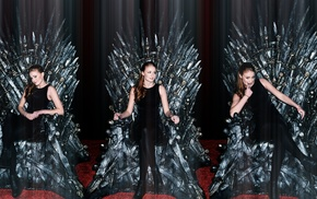 Iron Throne, Game of Thrones, Sophie Turner, Sansa Stark