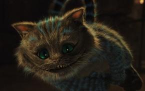 Alice in Wonderland, cat, Cheshire Cat, flying