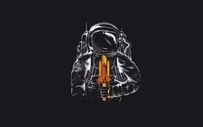 astronaut, popsicle