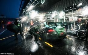 BMW Z4, BMW Z4 GT3, Speedhunters, photography, race cars
