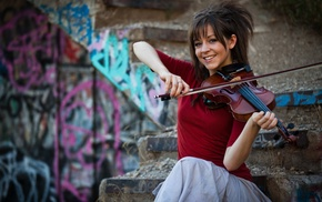 violin, girl, Lindsey Stirling