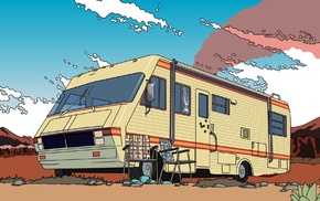 Breaking Bad, Walter White, meth, Heisenberg, RV