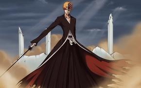 bankai, dust, palace, Hollow, Bleach, Kurosaki Ichigo