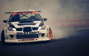 Subaru, drift, impreza