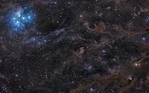 nebula, space, stars