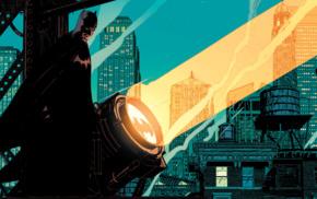 DC Comics, Batman, comic art