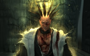 realistic, anime, Zaraki Kenpachi, Bleach