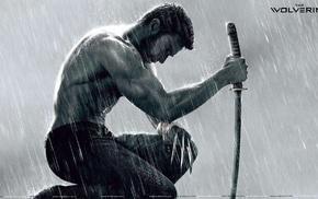 sword, shirtless, Wolverine