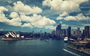 Australia, Sydney Opera House, cityscape, Sydney