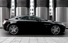 black, auto, Aston Martin, cars, design