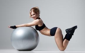 модель, девушки, девушка, спорт