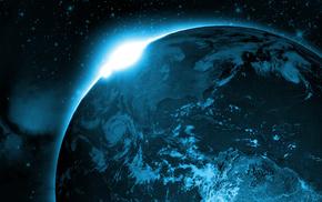 Земля, космос, галактика, солнце