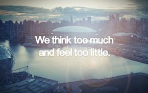 British Columbia, skyline, Vancouver, Canada, cityscape, quote