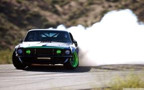 boss 307, car, Ford Mustang