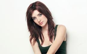 Susan Coffey, face, redhead, blue eyes, girl