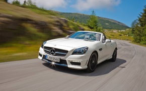 AMG, автомобили, Auto, Mercedes-Benz, SLK55