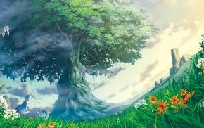 произведение искусства, фантастическое исскуство, природа, деревья