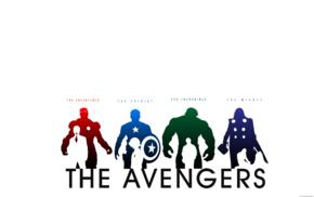 Халк, железный человек, Мстители, Тор, Капитан Америка
