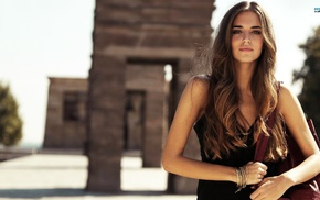 brunette, Clara Alonso, girl