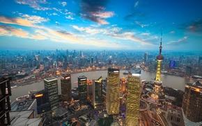photography, China, Shanghai, cityscape, city