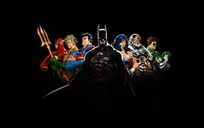 Aquaman, Green Lantern, The Flash, comics, DC Comics, Justice League