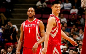 NBA, Houston Rockets, rockets, China, basketball, Tracy McGrady