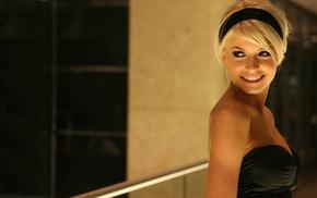 девушка, блондинка