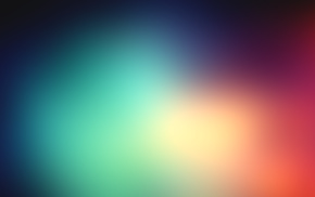 gradient, blurred