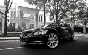 white, cars, automobile, black