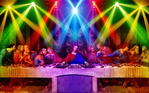 The Last Supper, anime, nightclubs, 12 Disciples