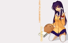 test kyou, anime, Clannad, school uniform, lease ignore, anime girls